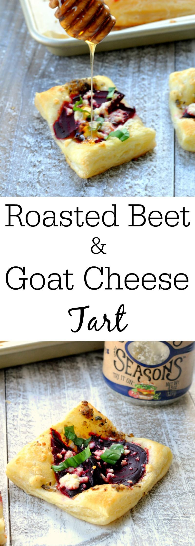 Roasted Beet and Blue Cheese Tart - My Suburban Kitchen