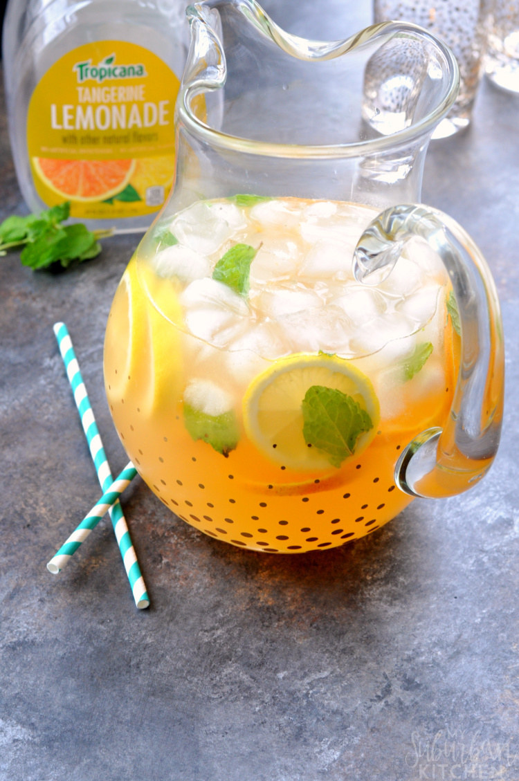 Tangerine Lemonade Smash