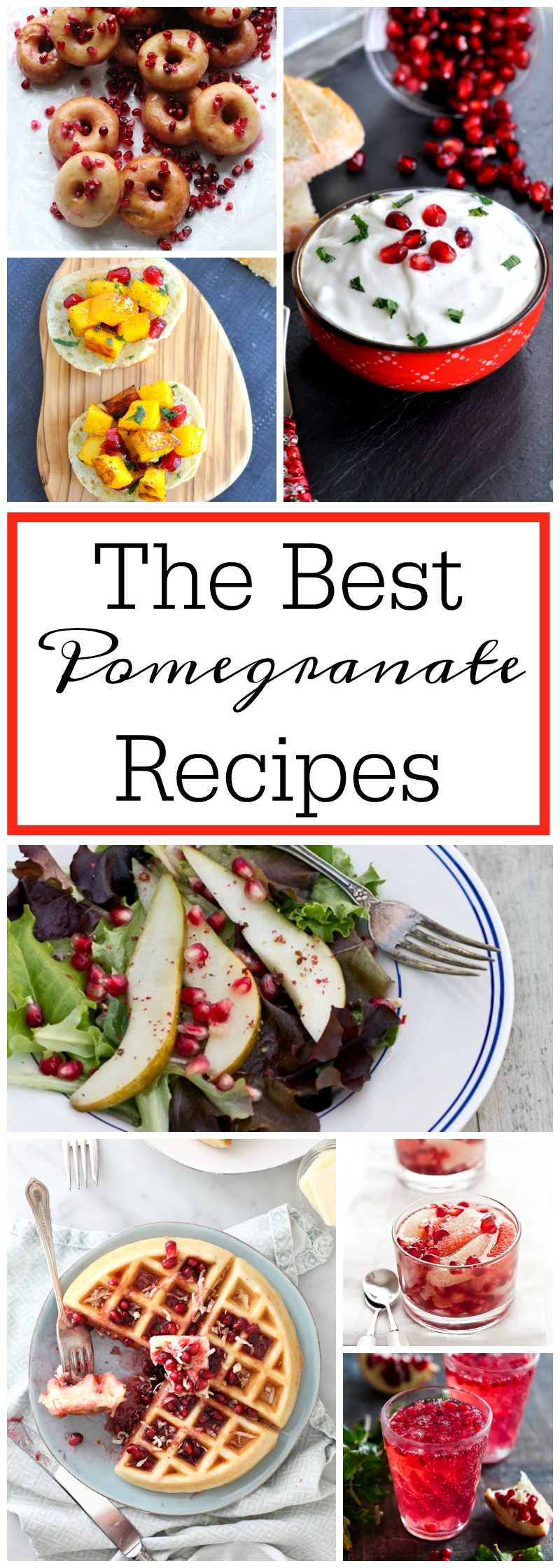 The Best Pomegranate Recipes Ever