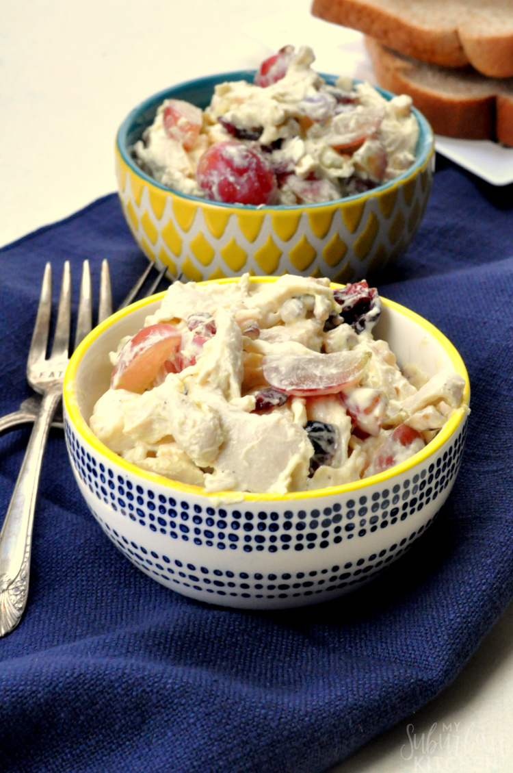 Easy and Light Chicken Salad