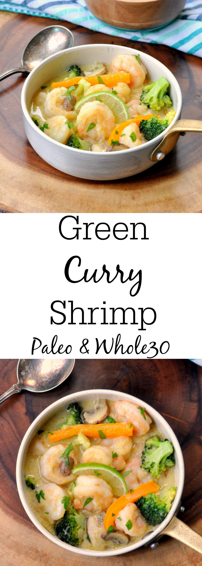 Thai Green Curry Shrimp