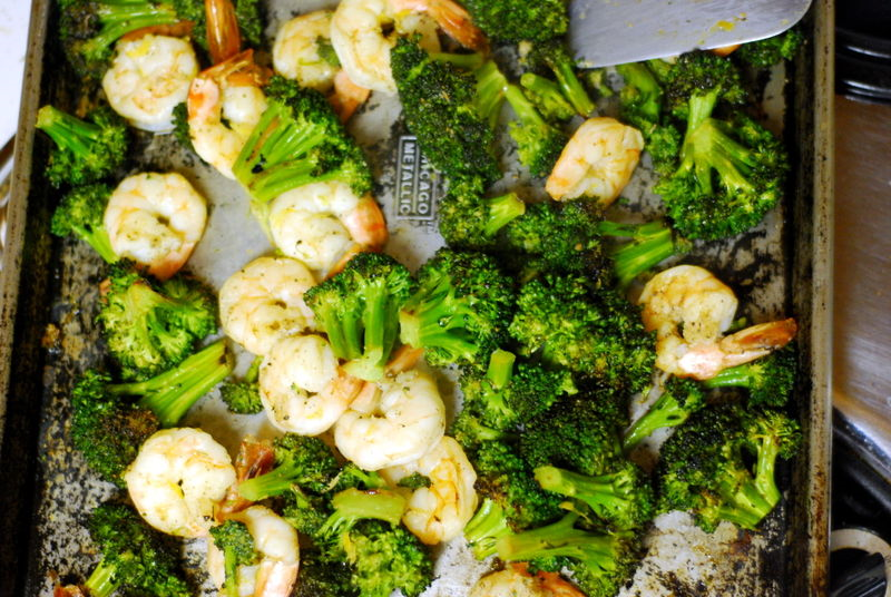 05 - The Wednesday Chef - Roasted Broccoli and Shrimp