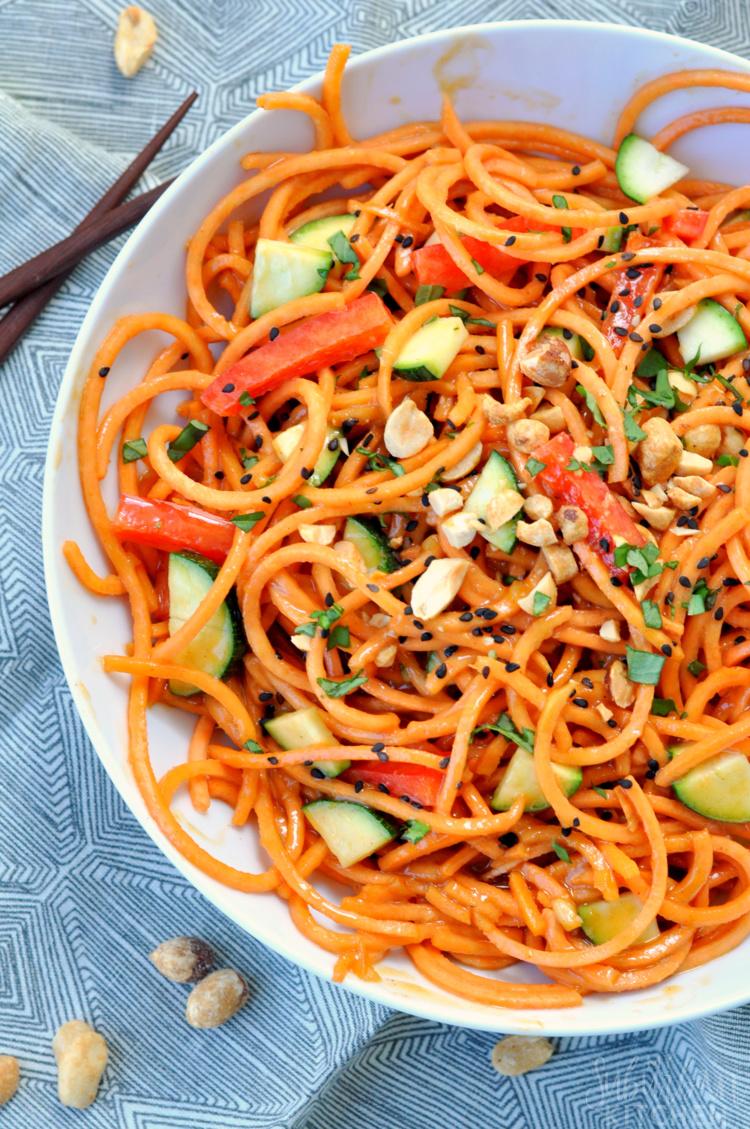 10 Minute Thai Veggie Noodles