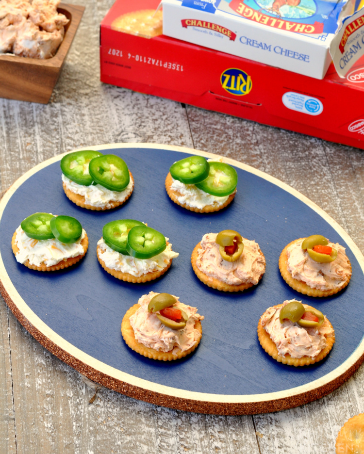 Easy Party Appetizers with RITZ Crackers