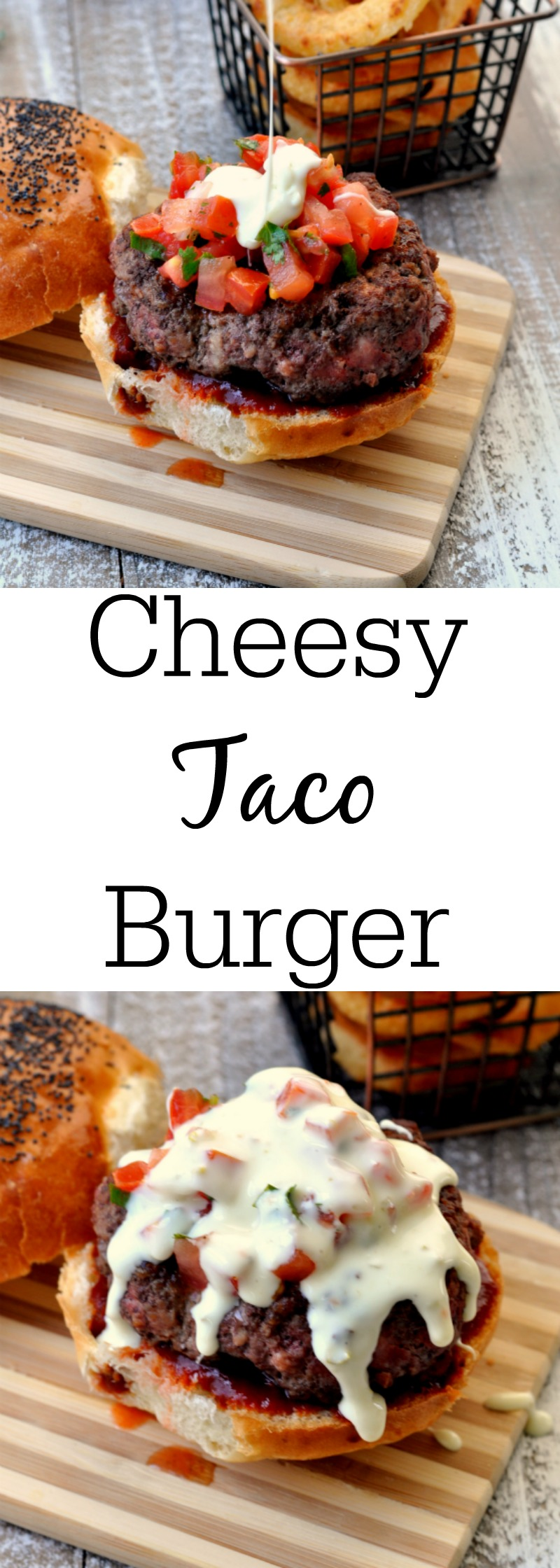 Cheesy Taco Burger