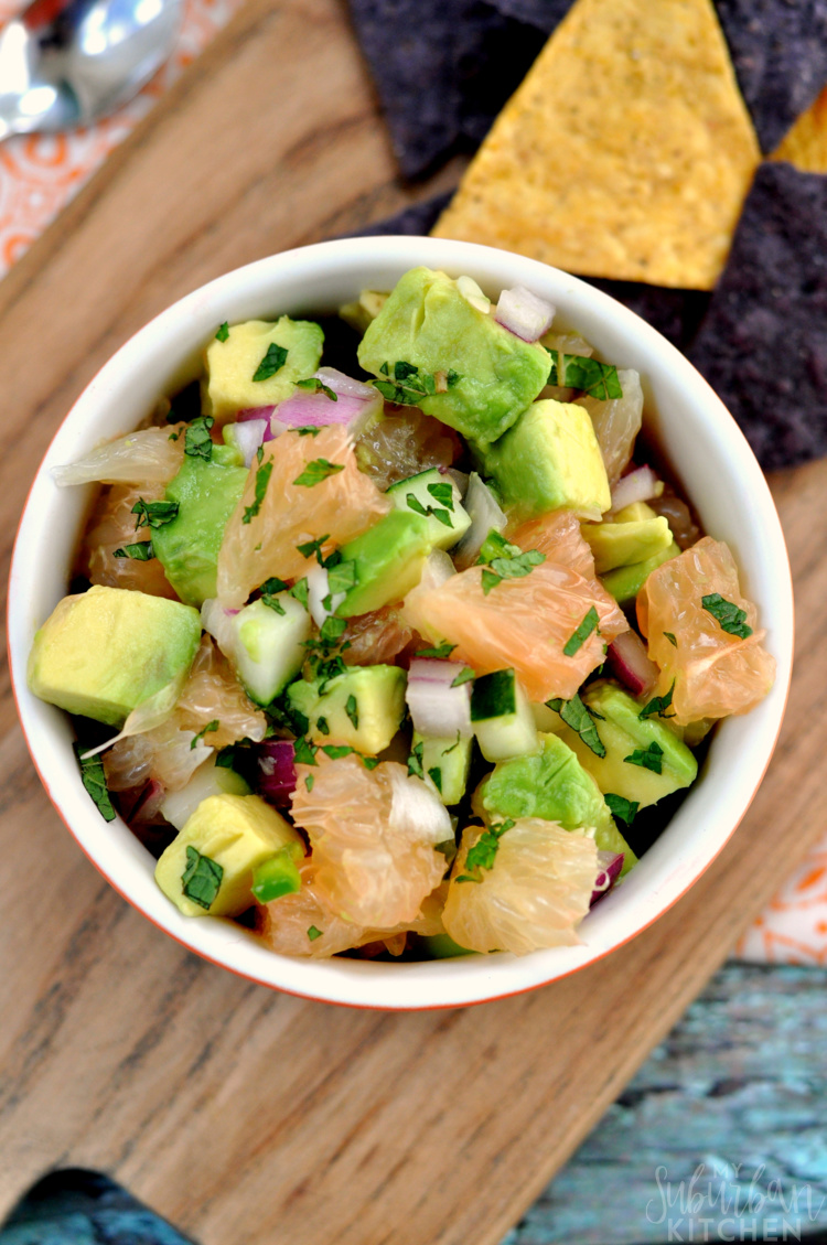 Grapefruit Avocado Salsa