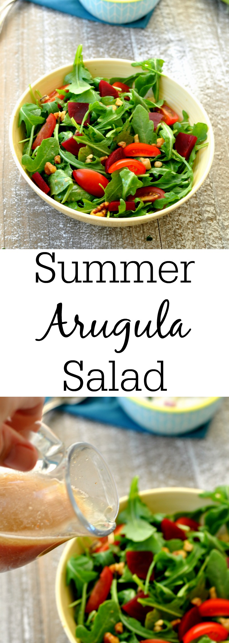 Summer Arugula Salad
