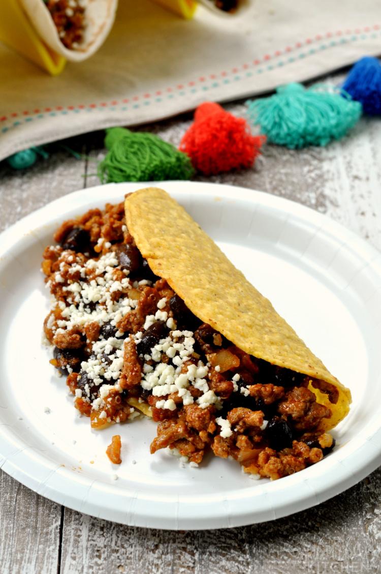 Turkey and Black Bean Tacos