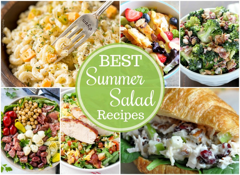 Best Summer Salad Recipes FB