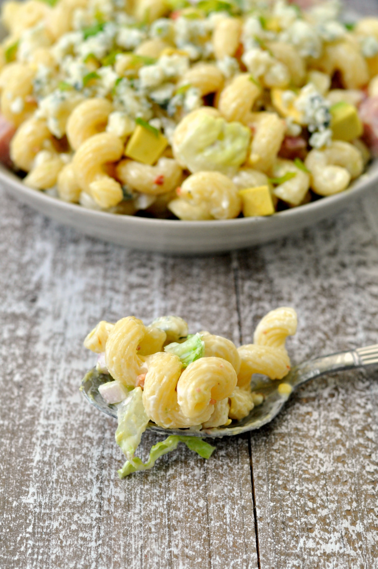 California Cobb Pasta Salad Recipe