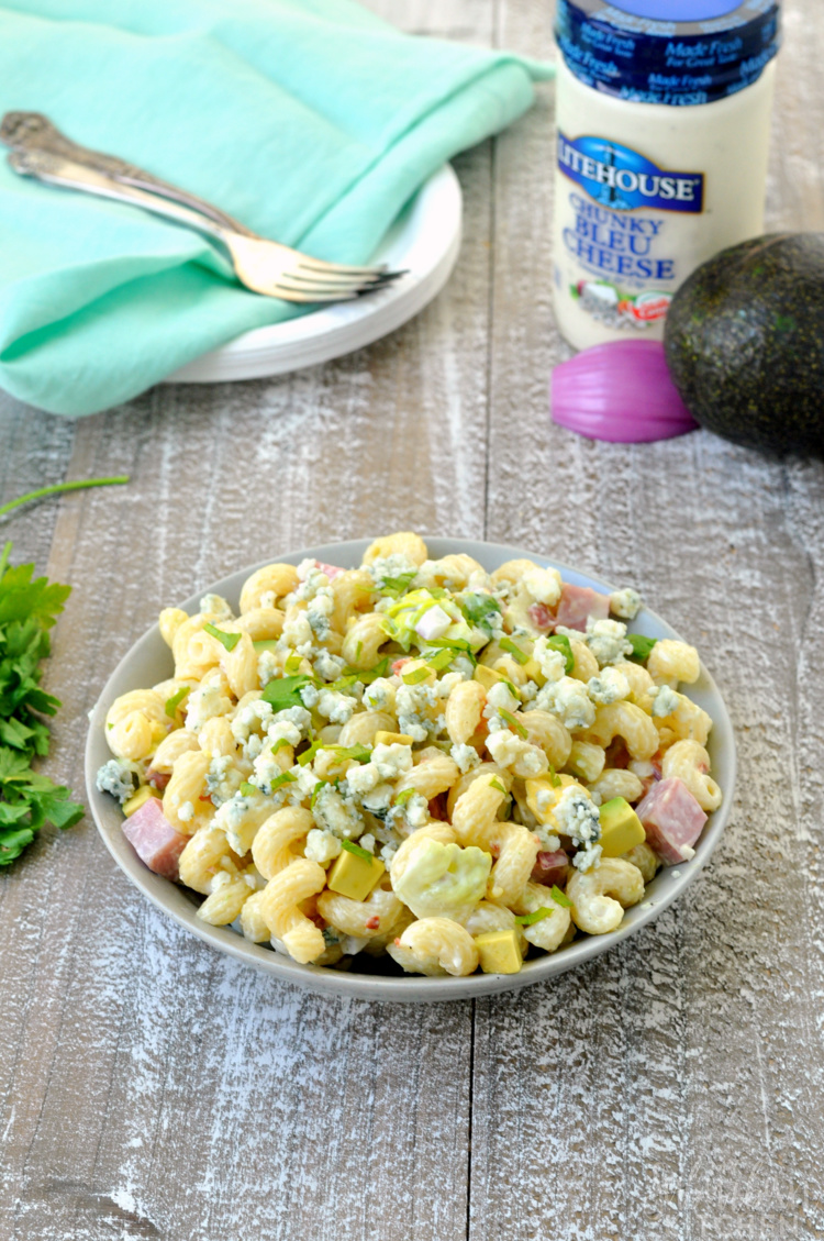 Easy California Cobb Pasta Salad