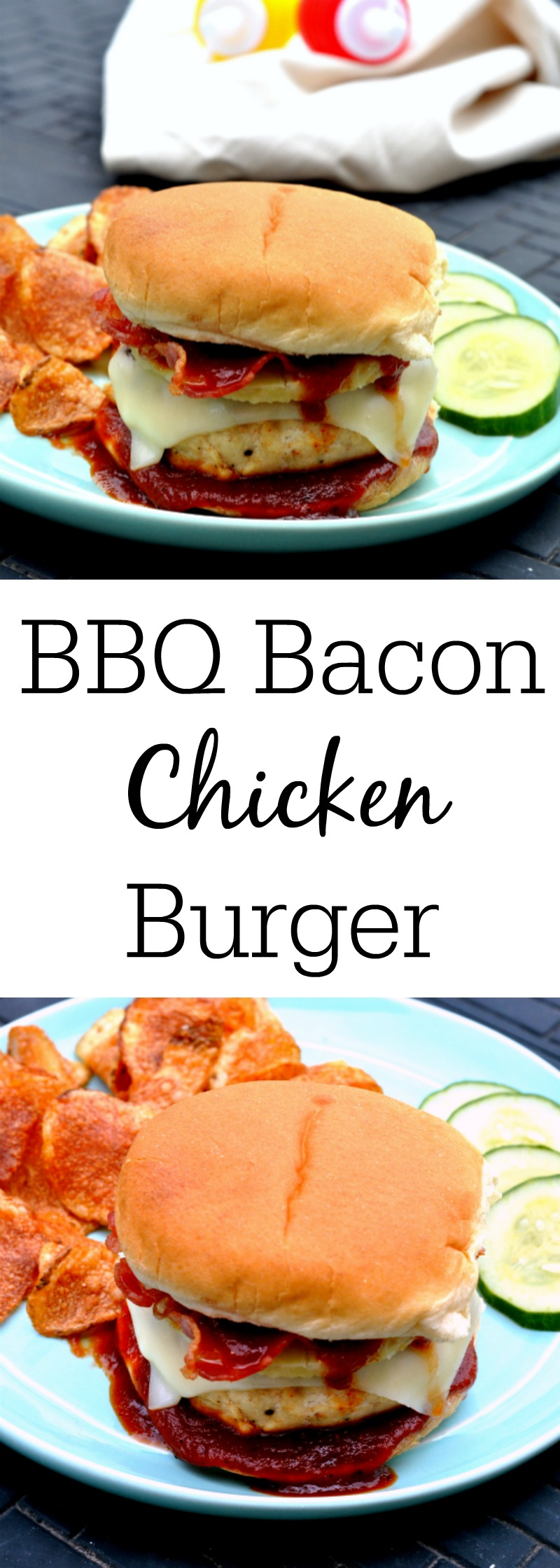 BBQ Bacon Chicken Burger