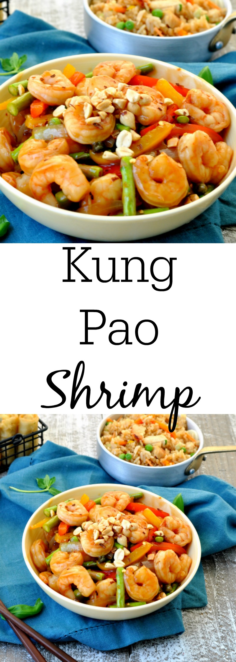 Easy Kung Pao Shrimp