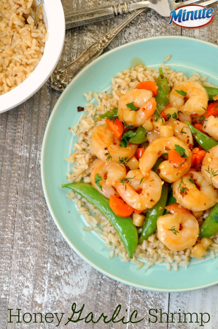 Honey Garlic Shrimp Stir Fry