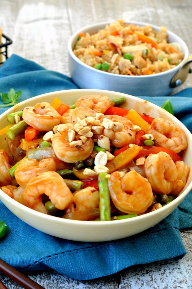 Kung Pao Shrimp and Perfect Fried Rice