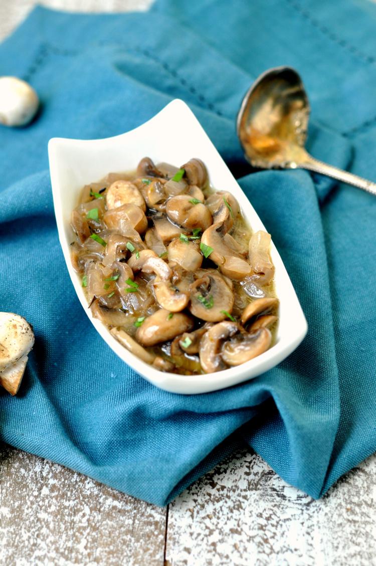 Perfectly Sauteed Mushrooms
