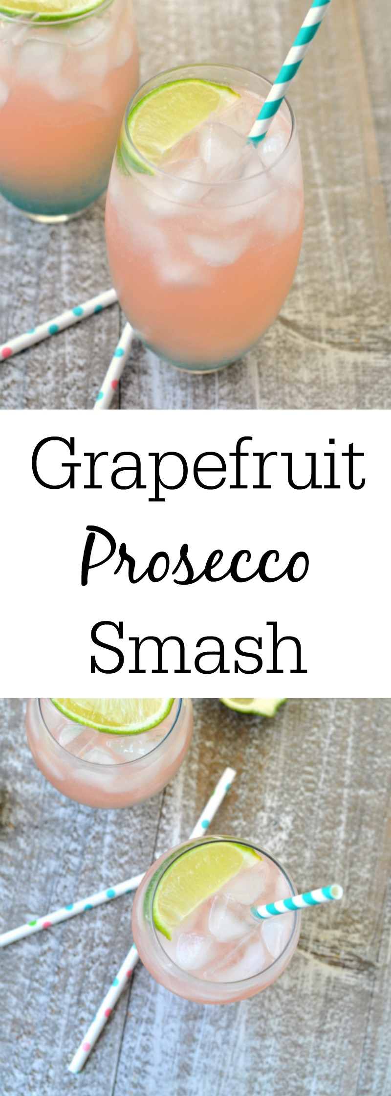 Grapefruit Prosecco Smash