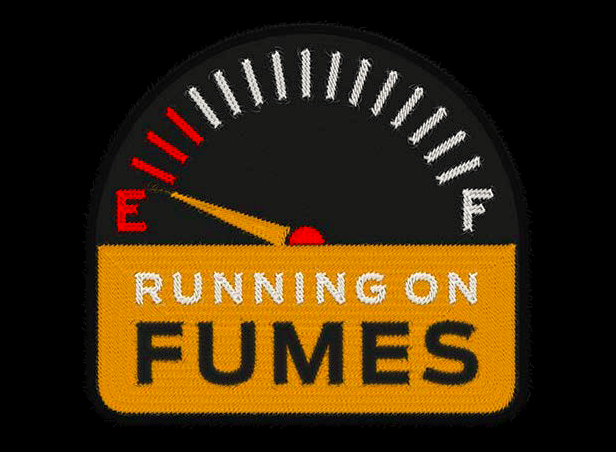 running-on-fumes-badge