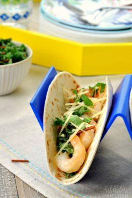 Shrimp Scampi Tacos