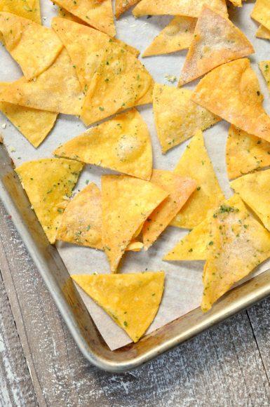 Two Ingredient Gluten Free Chips