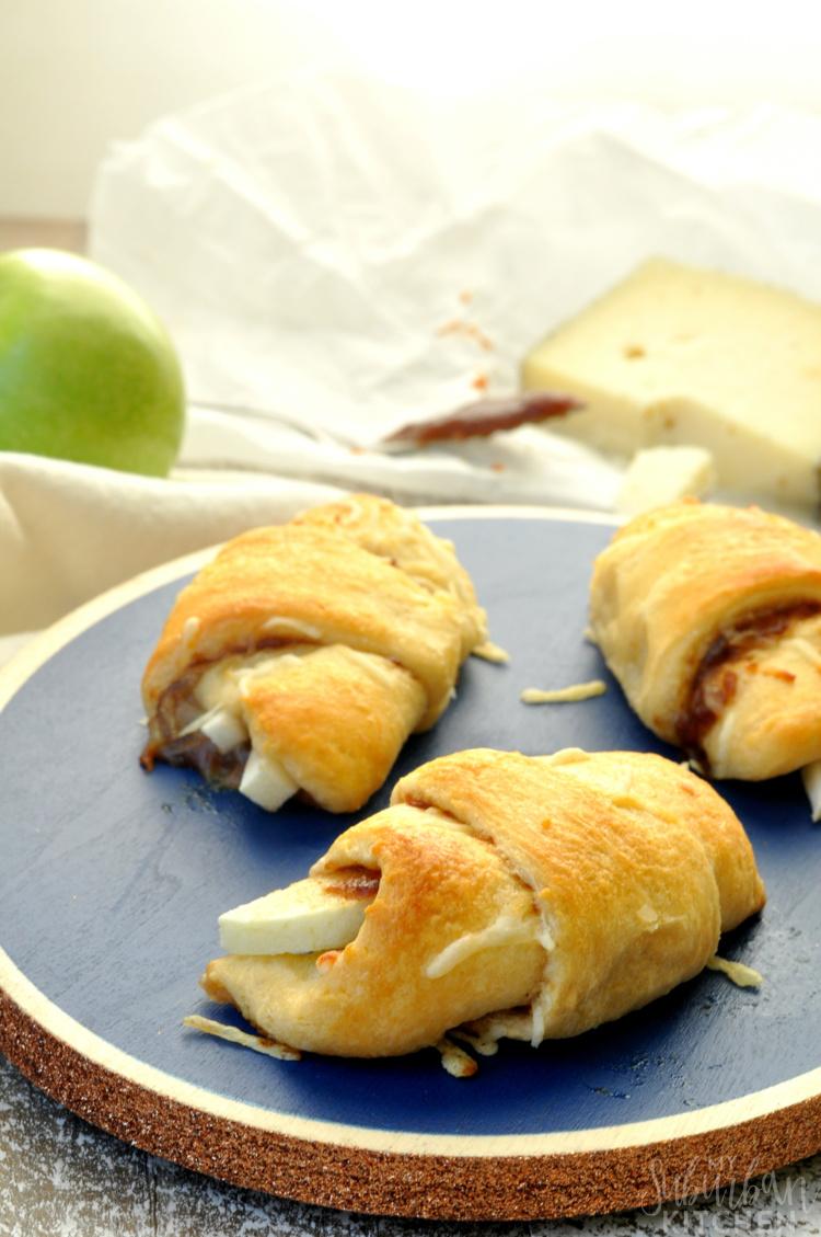 Gruyere Apple Butter Crescents Rolls Recipe