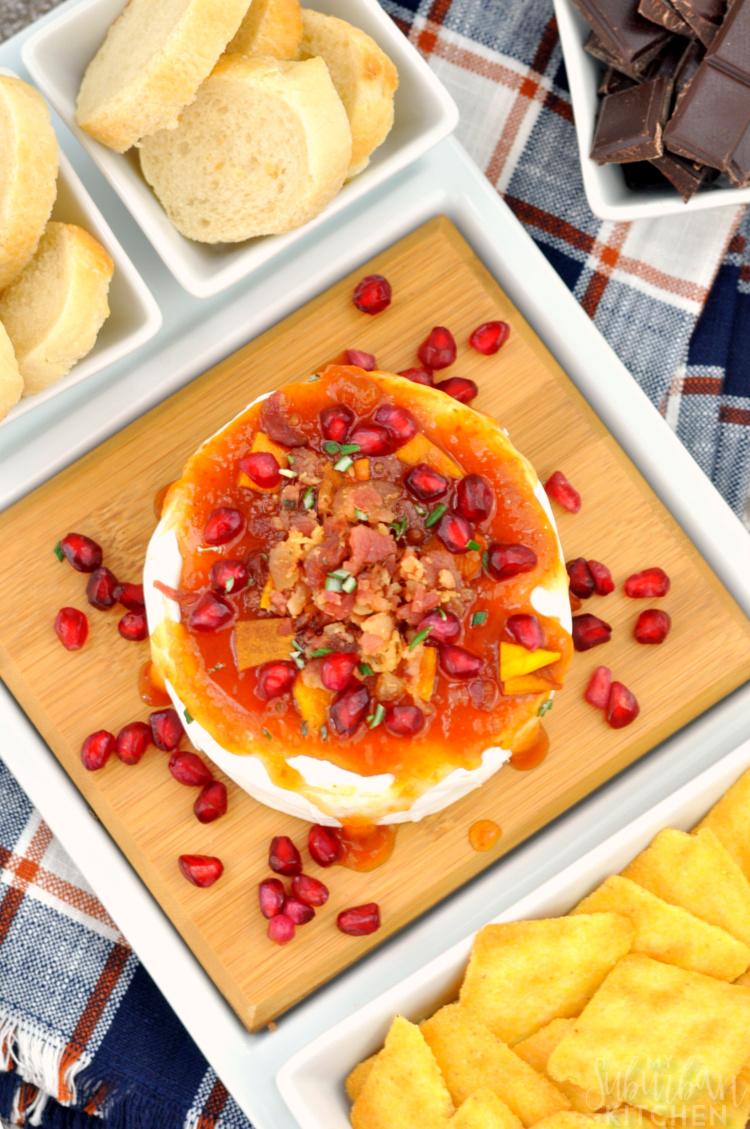 Sriracha Apricot Bacon Brie