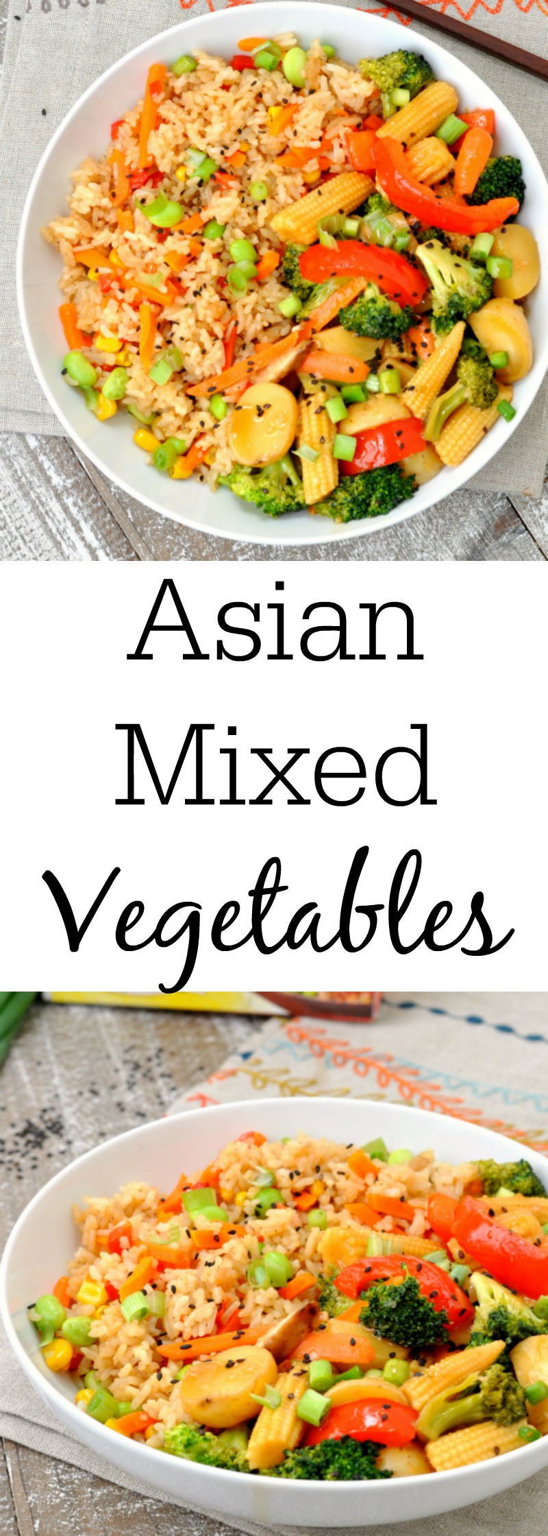 Asian Mixed Vegetables