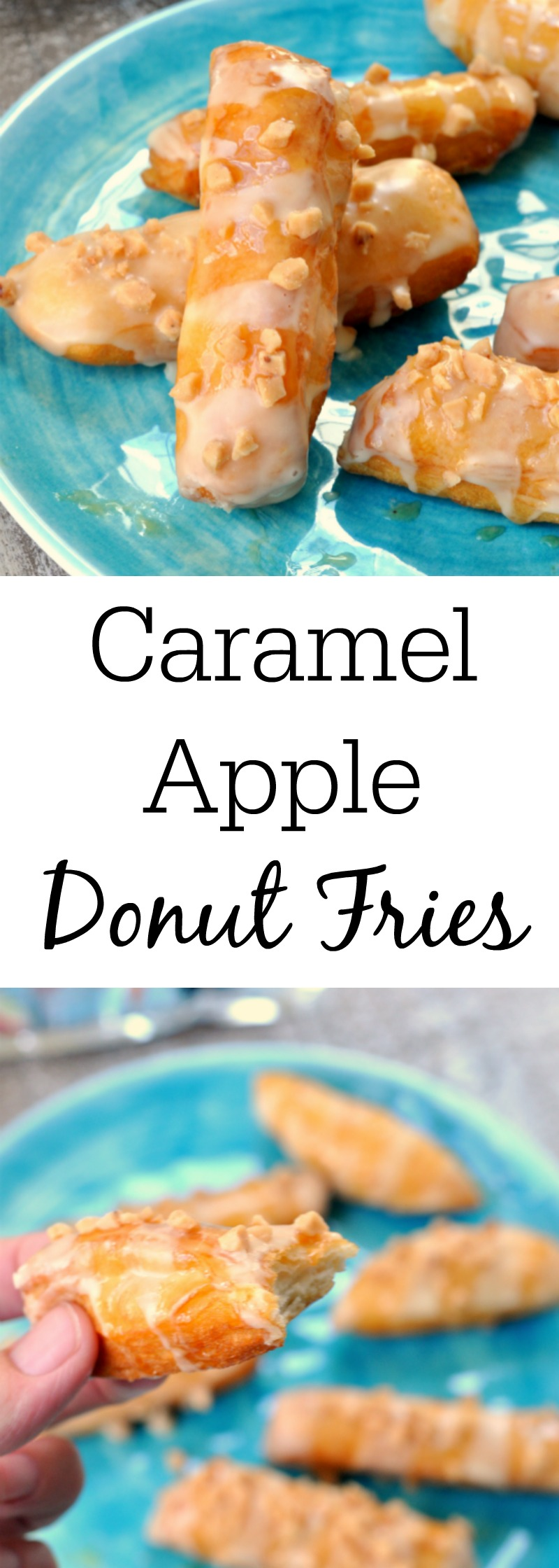 Caramel Apple Donut Fries