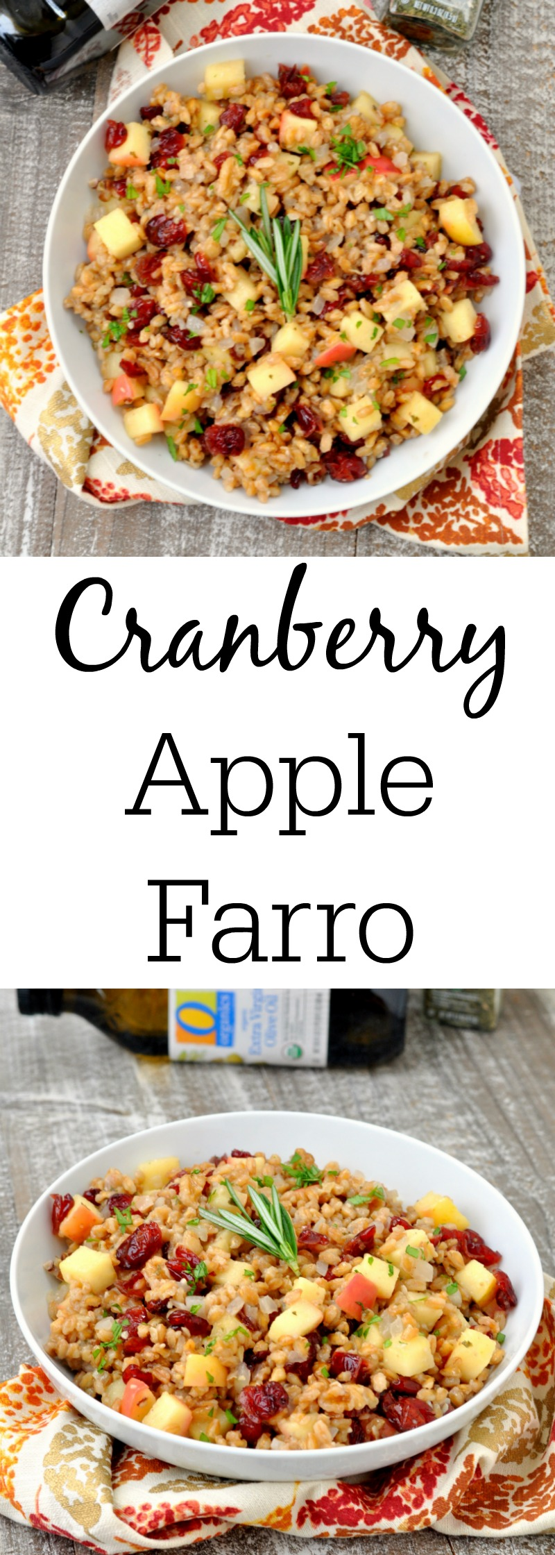 Cranberry Apple Farro