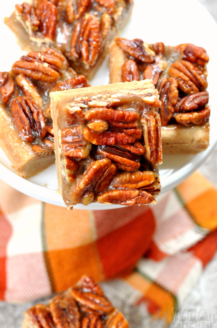 Best Gluten Free Pecan Pie Bars