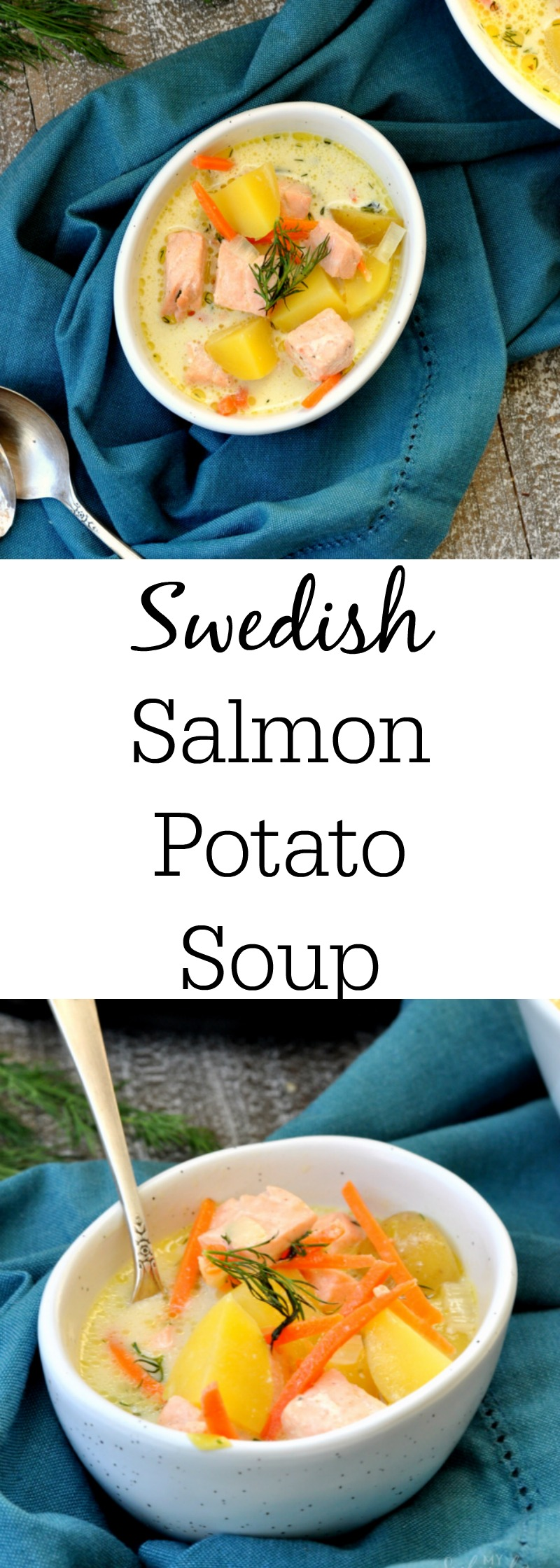 Swedish Salmon Potato Soup