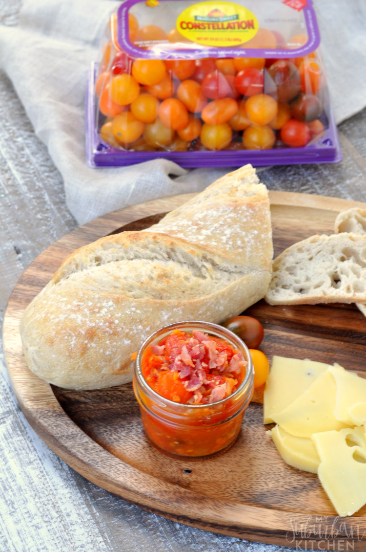 Roasted Tomato Bacon Chutney