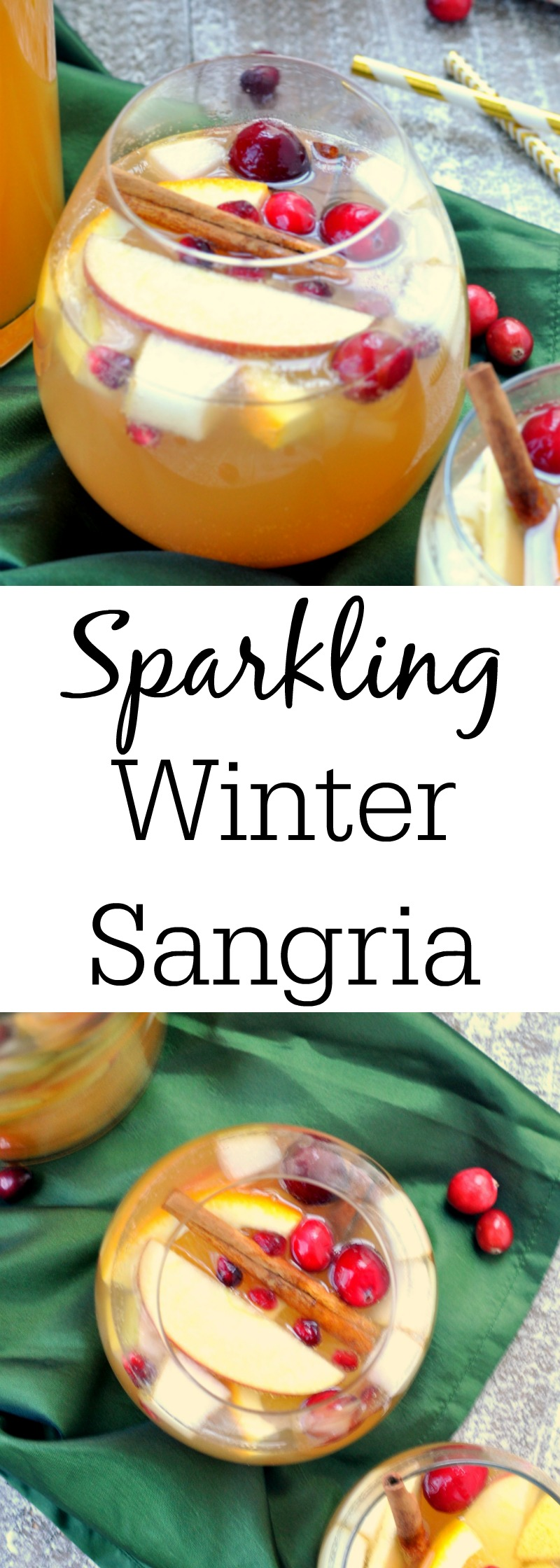 Sparkling Winter Sangria