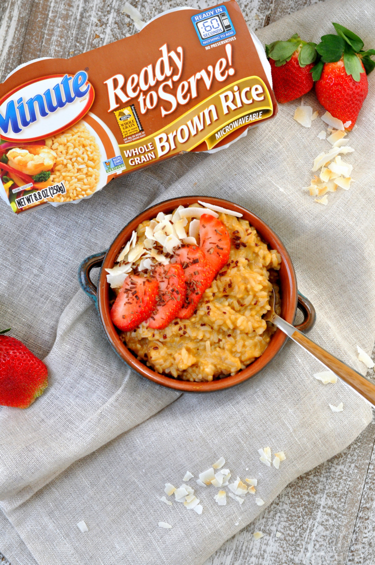 Brown Rice Breakfast Porridge Recipe