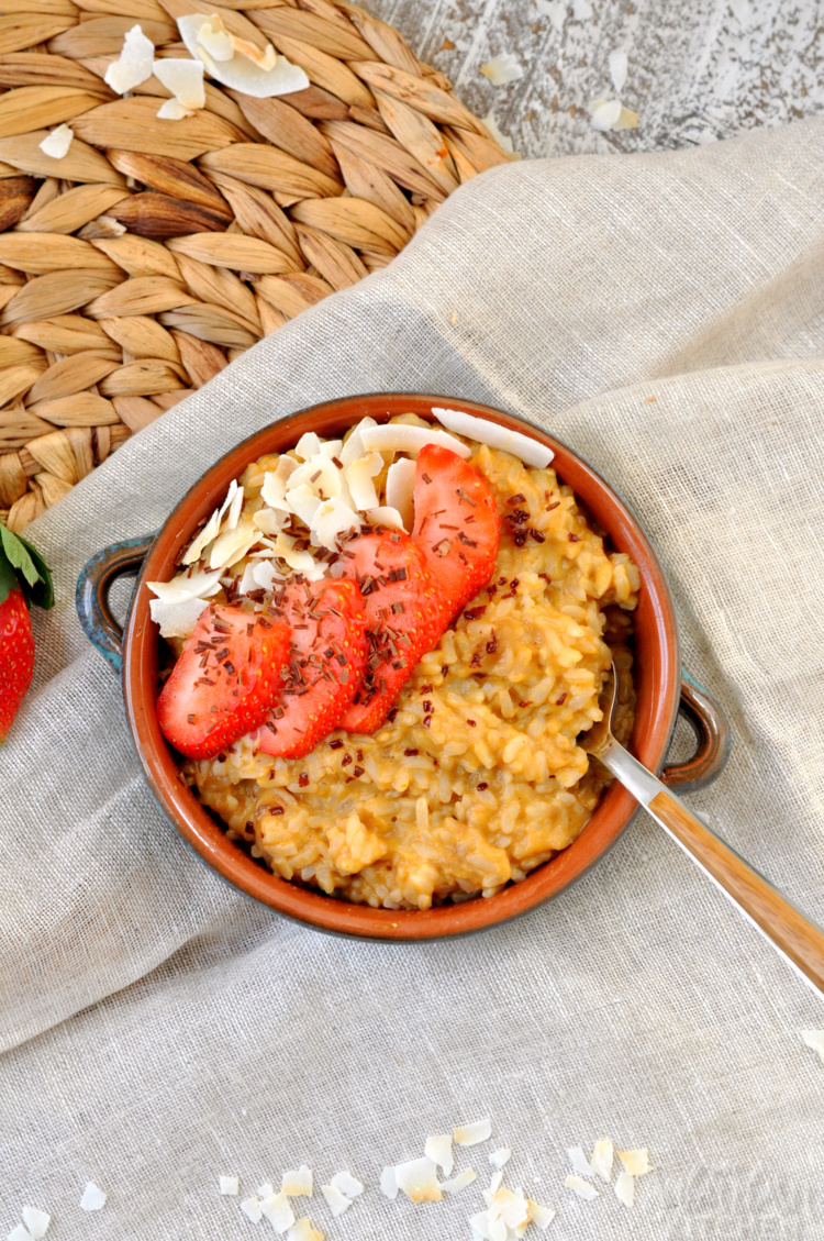 Brown Rice Breakfast Porridge Photo 36