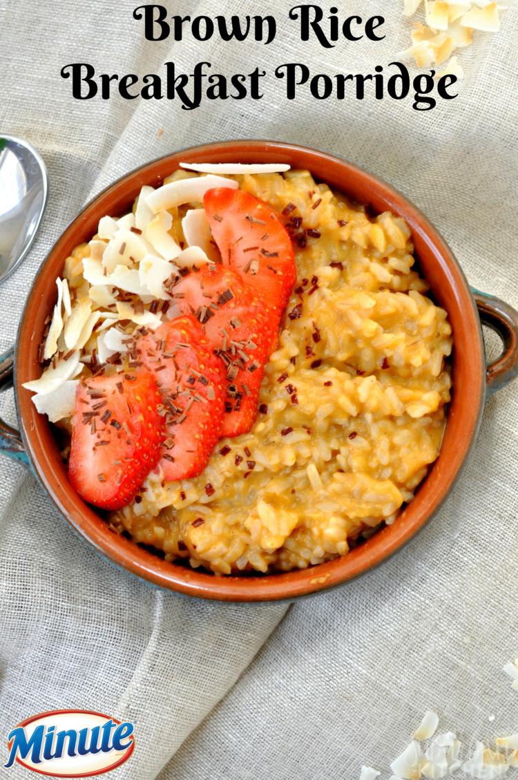 Brown Rice Breakfast Porridge 37