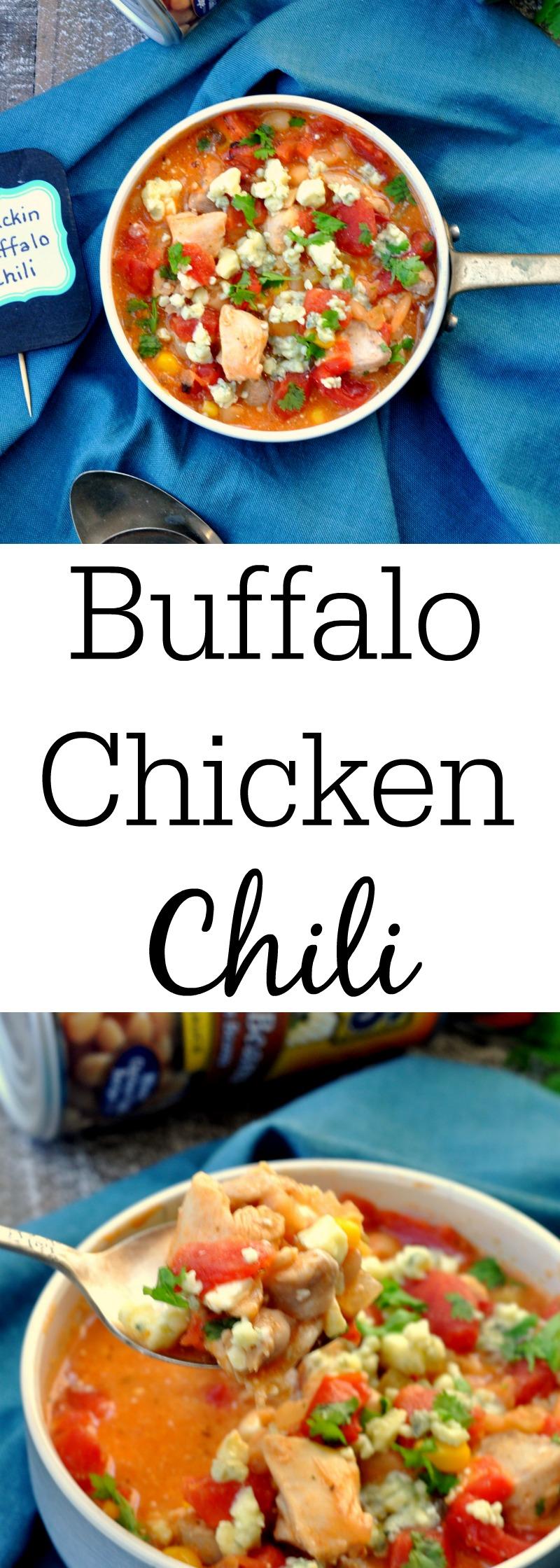 Buffalo Chicken Chili - My Suburban Kitchen