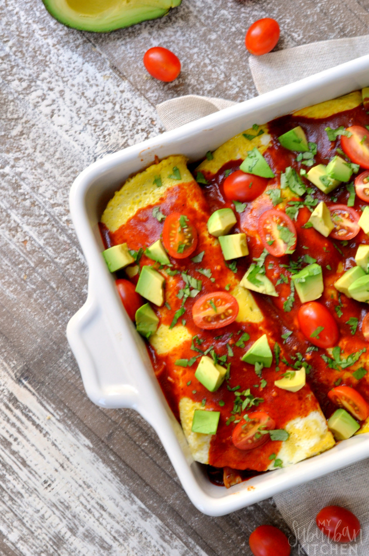 Paleo Breakfast Enchiladas - Whole30 Compliant
