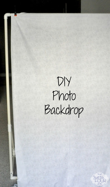 DIY Photo Backdrop Stand