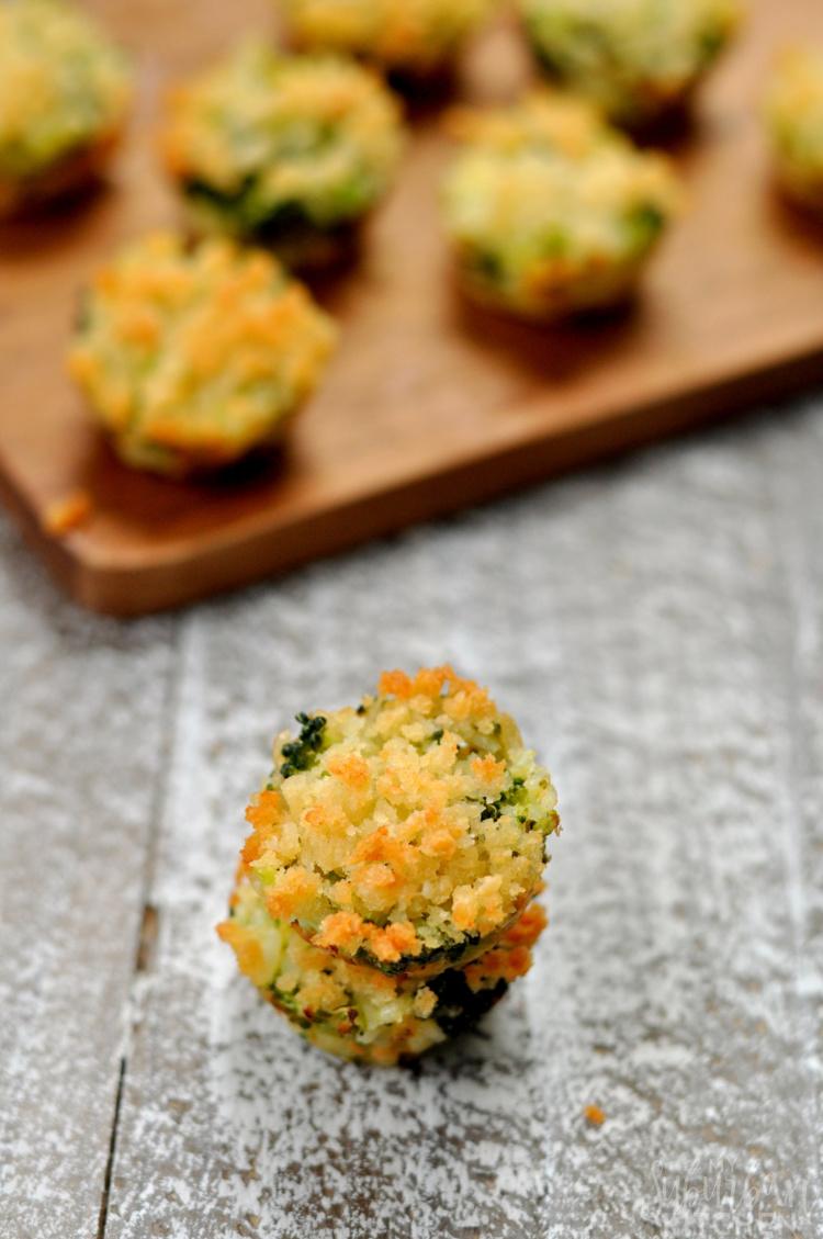 Broccoli Casserole Bites