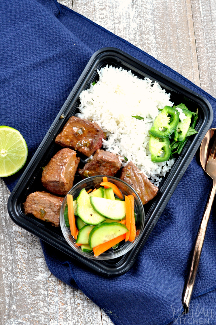 Korean Beef Meal Prep Bowls