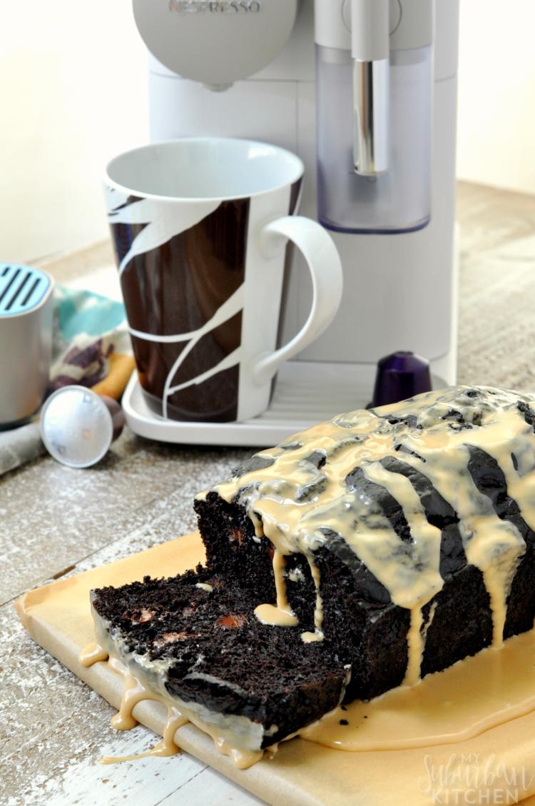 Chocolate Espresso Zucchini Bread