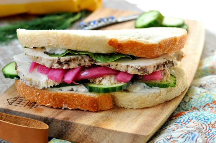 Greek Chicken Sandwich