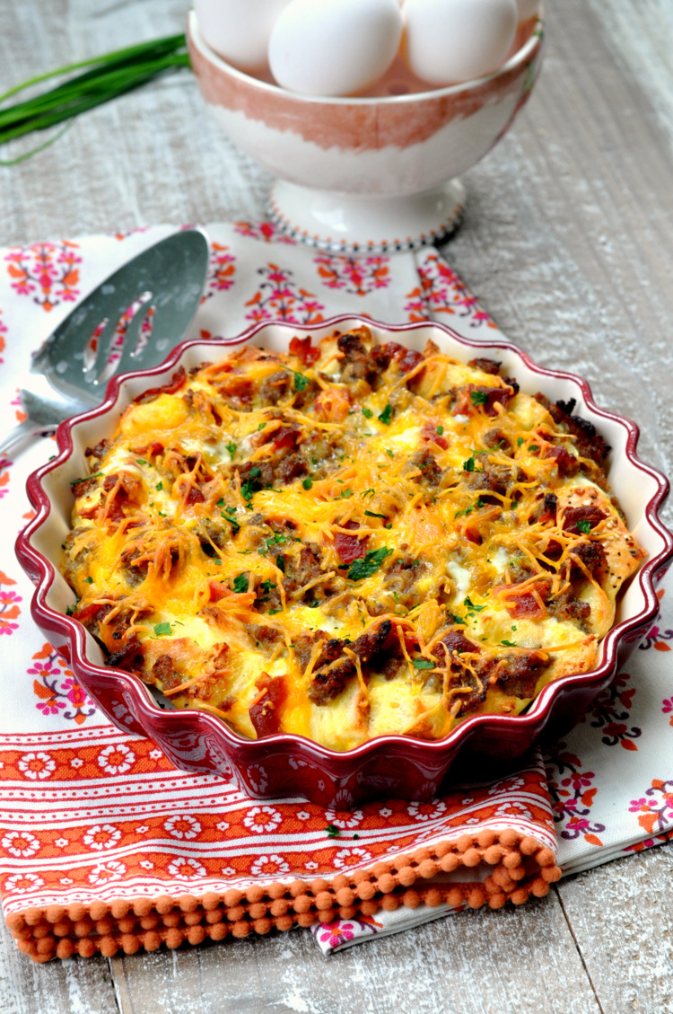 Meat Lover's Breakfast Casserole