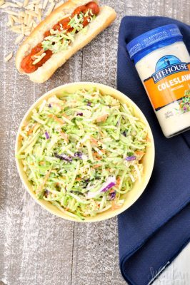 Easy Broccoli Slaw Salad