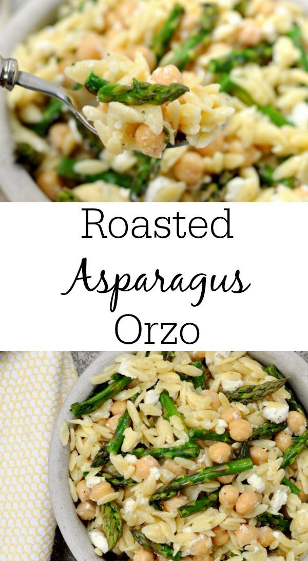 Roasted Asparagus Orzo