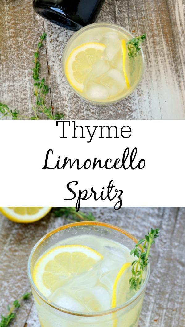Thyme Limoncello Spritz