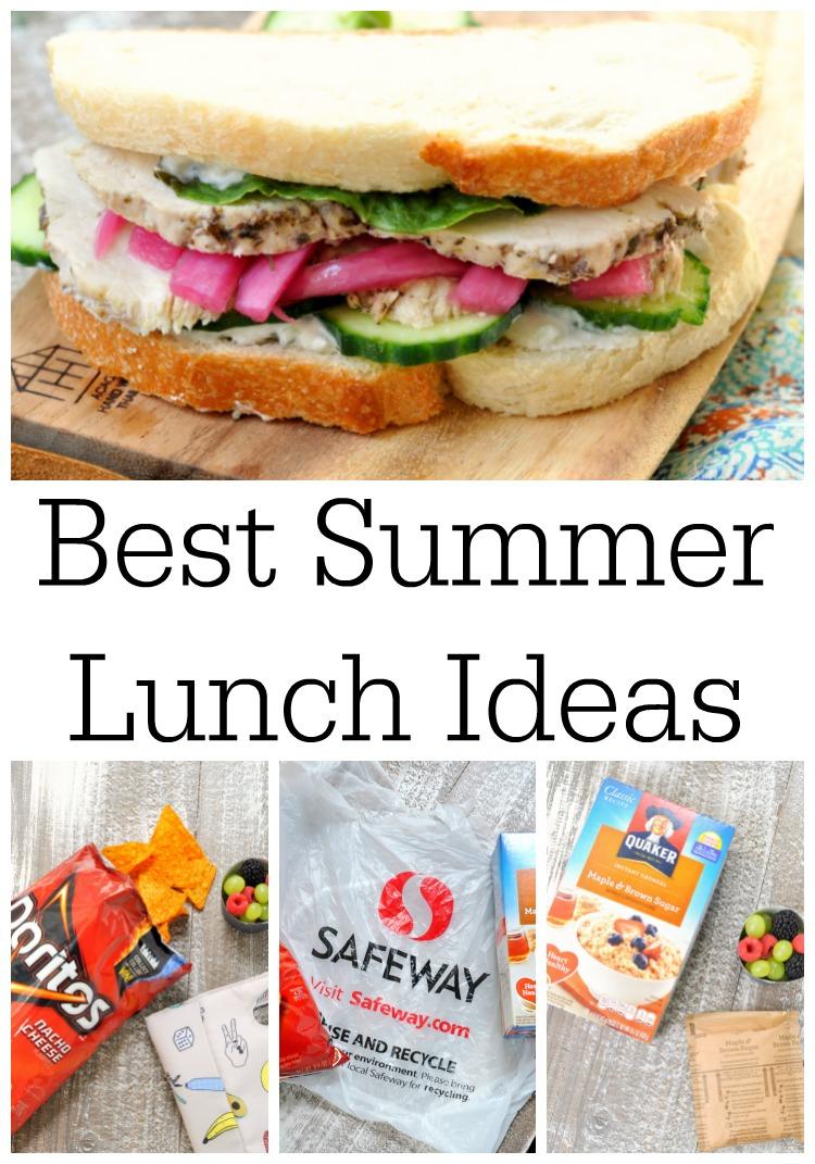 Best Summer Lunch Ideas