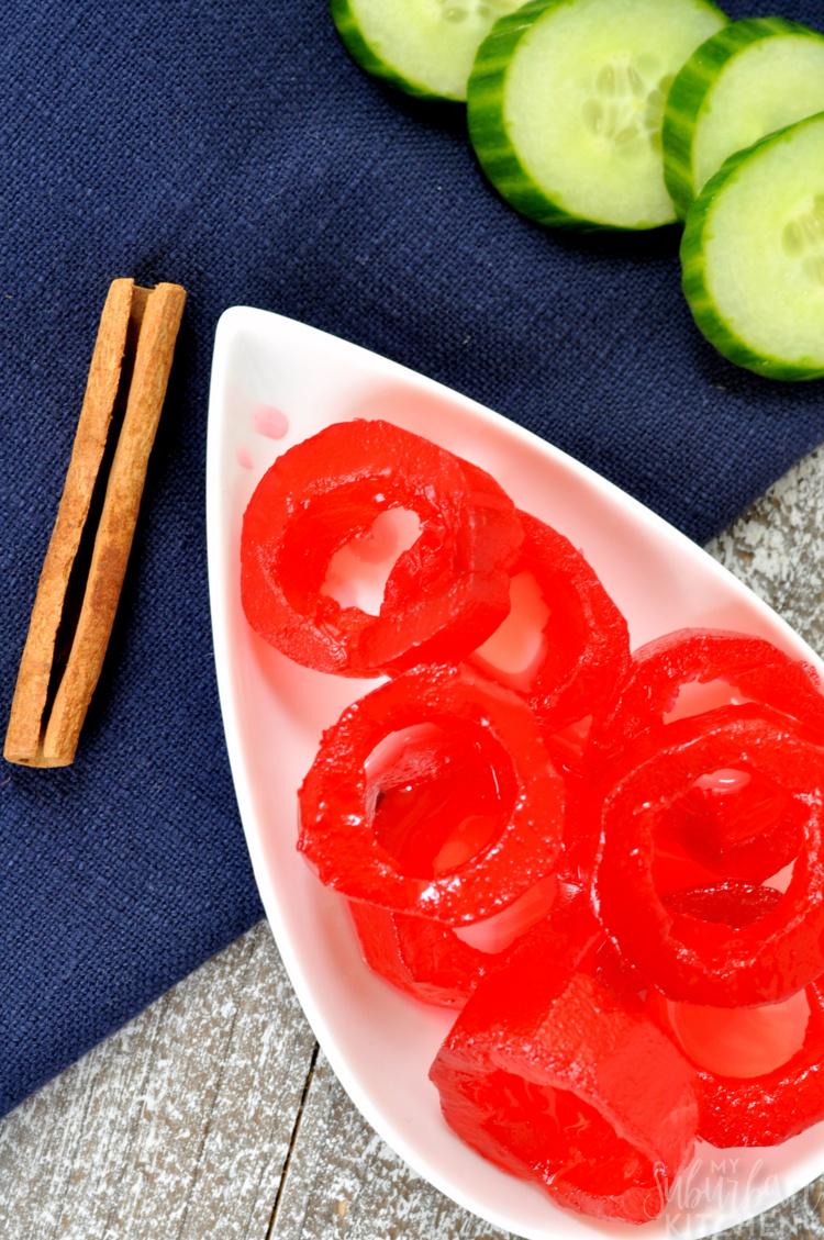 Cinnamon Pickle Rings