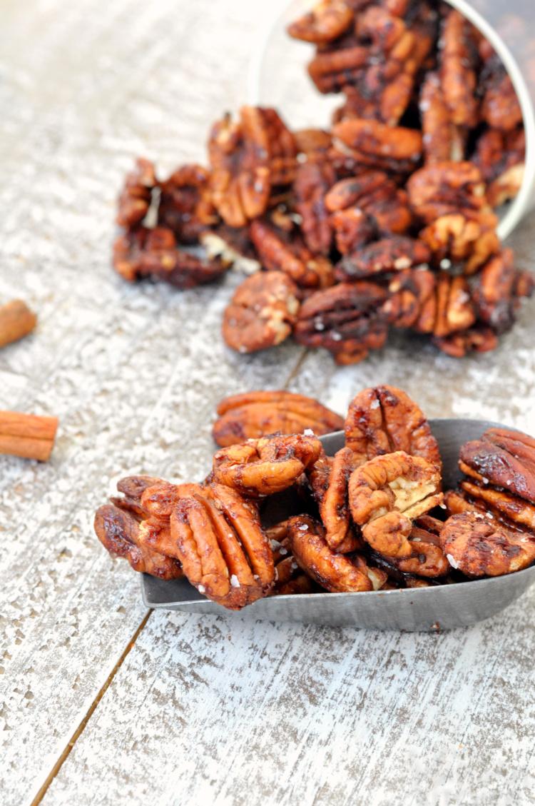 Chai Spiced Pecans
